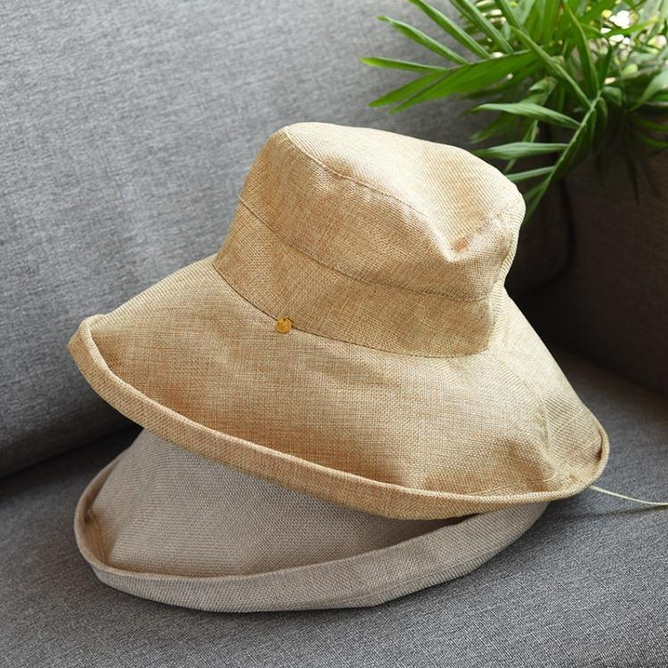 防紫外線面料女士大帽沿遮陽帽防曬帽可摺疊好攜帶  免運 可開發票 【易購生活館】