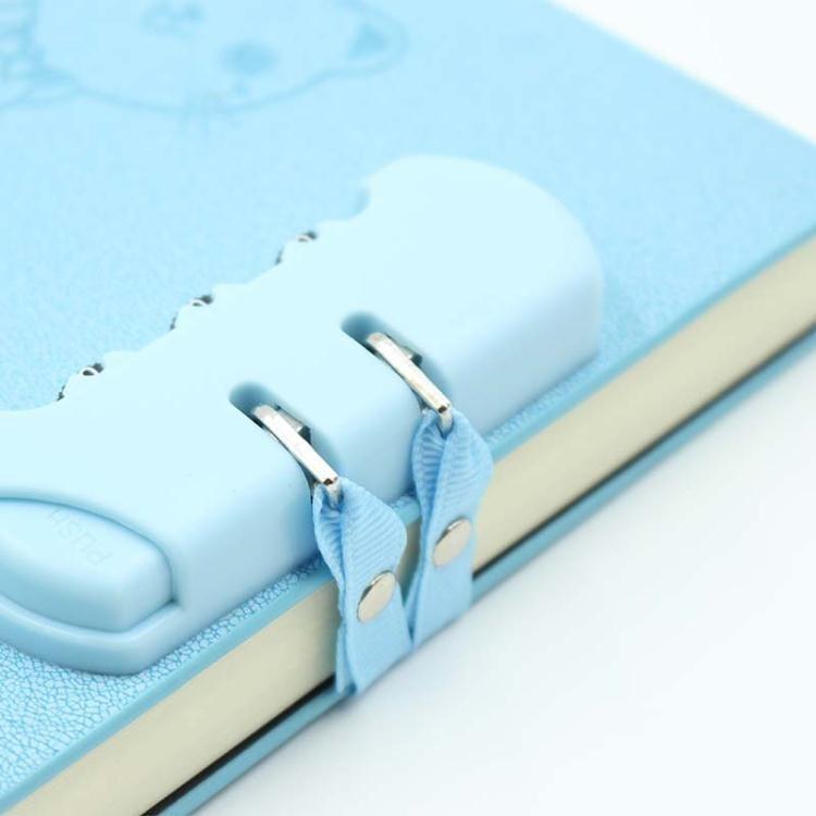 創意日記本密碼本學生帶鎖筆記本子日式手帳本韓國小清新文具  免運 可開發票 【易購生活館】