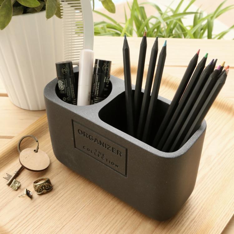 簡約筆筒創意時尚韓國小清新辦公化妝刷歐式復古筆筒收納盒  免運 可開發票 【易購生活館】