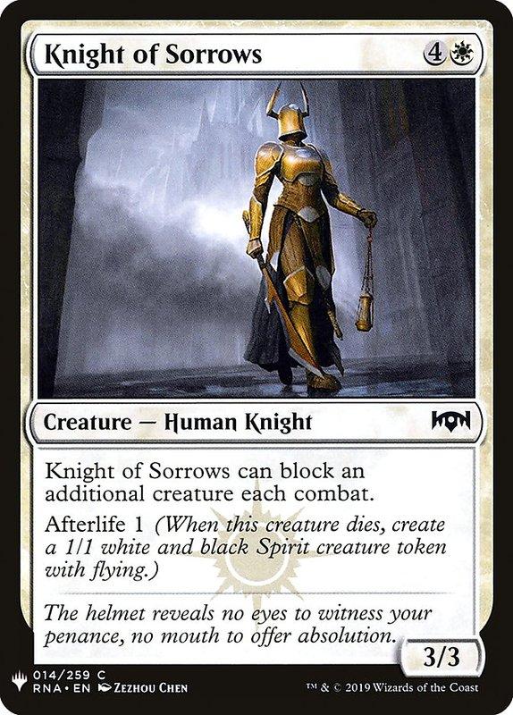 [MH] MB1 Knight of Sorrows 哀慟騎士