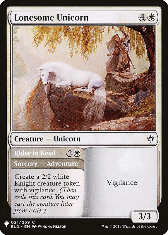 [MH] MB1 Lonesome Unicorn 孤寂獨角獸