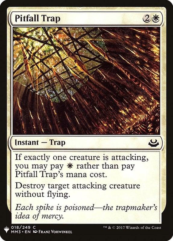 [MH] MB1 Pitfall Trap 墜穴陷阱