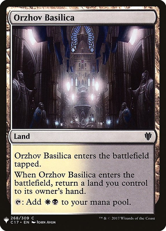 [MH] MB1 Orzhov Basilica 歐佐夫大殿