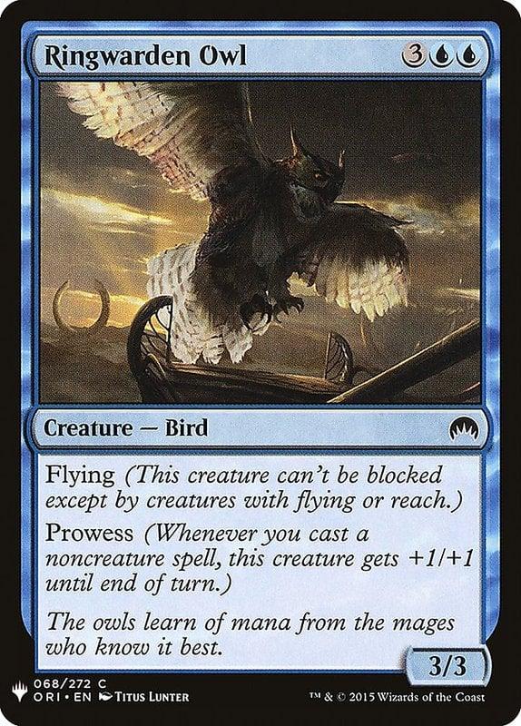 [MH] MB1 Ringwarden Owl 環塔衛梟