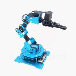 【宇宙機器人】六軸金屬機械手臂