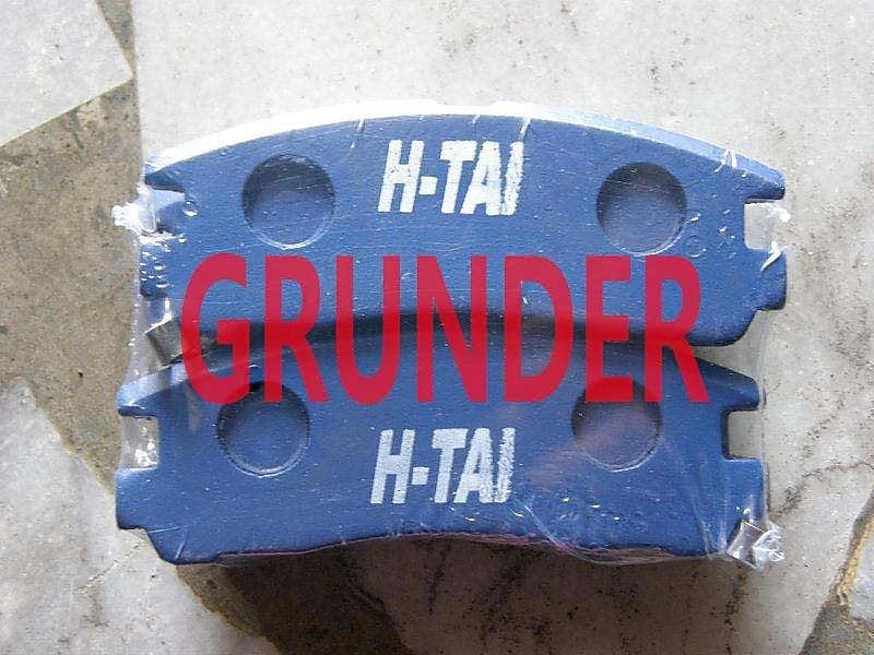 三菱 GALANT 98 GRUNDER 後來令片 後煞車來令 後煞車皮 後碟來令 (碟) 各車三角架,和尚頭歡迎詢問