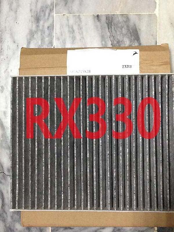 台製高密度真活性碳 LEXUS RX330 08 冷氣芯 冷氣濾 冷濾 A/C濾芯 其它機油芯,空氣芯 (兩組免運)可問