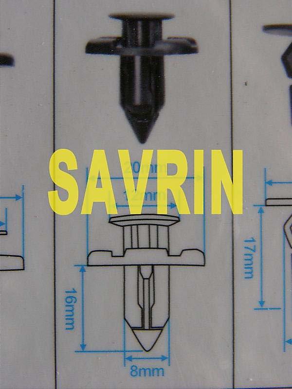中華 SAVRIN 保桿固定扣 保桿扣 引擎下護板固定扣 內規板固定扣 前保固定扣 (下,小,號碼:29) 歡迎詢問