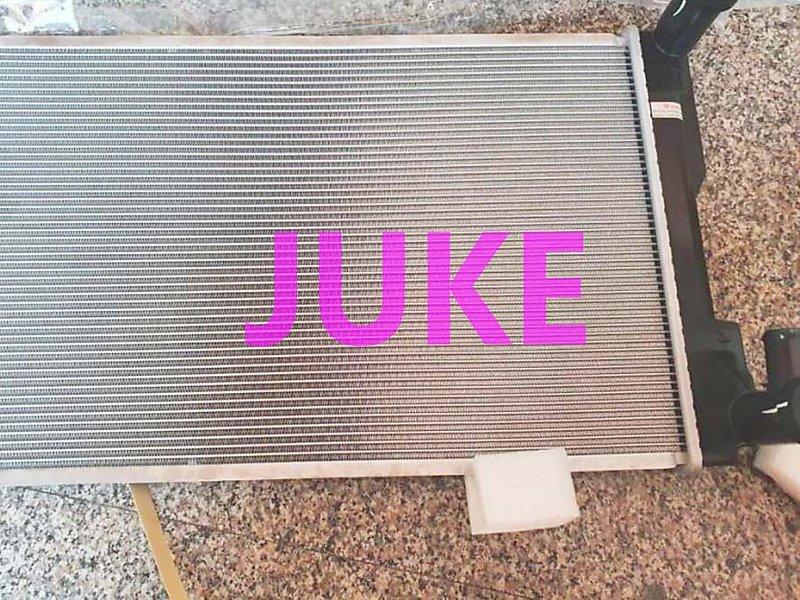 台製 NISSAN JUKE 13 1.6 水箱 (雙排) 廠牌:LK,CRI,CM吉茂,萬在,冷排,水管 歡迎詢問