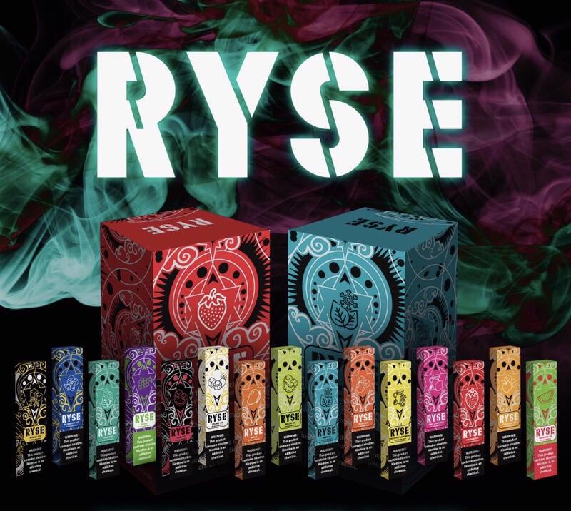 雲霧舫 美國正品 RYSE 5%一次性 煙霧 拋棄式 薰香棒 能量棒 非relx 非nrx