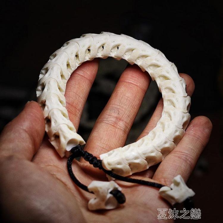 八五折限時優惠手串-泰國進口真蛇骨手鍊天然文玩手串情侶時尚飾品辟邪 -桃色精靈