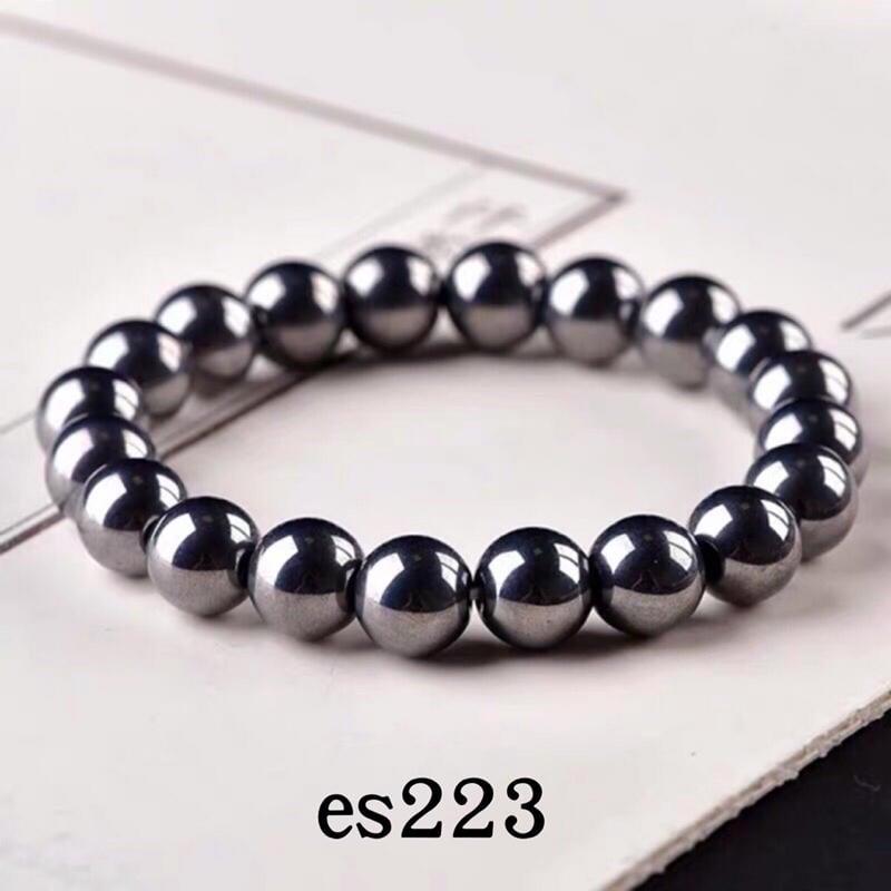 es223,日本正品 鈦赫茲手珠 太赫茲 6mm-12mm手鍊 手串 可融冰 舒壓能量