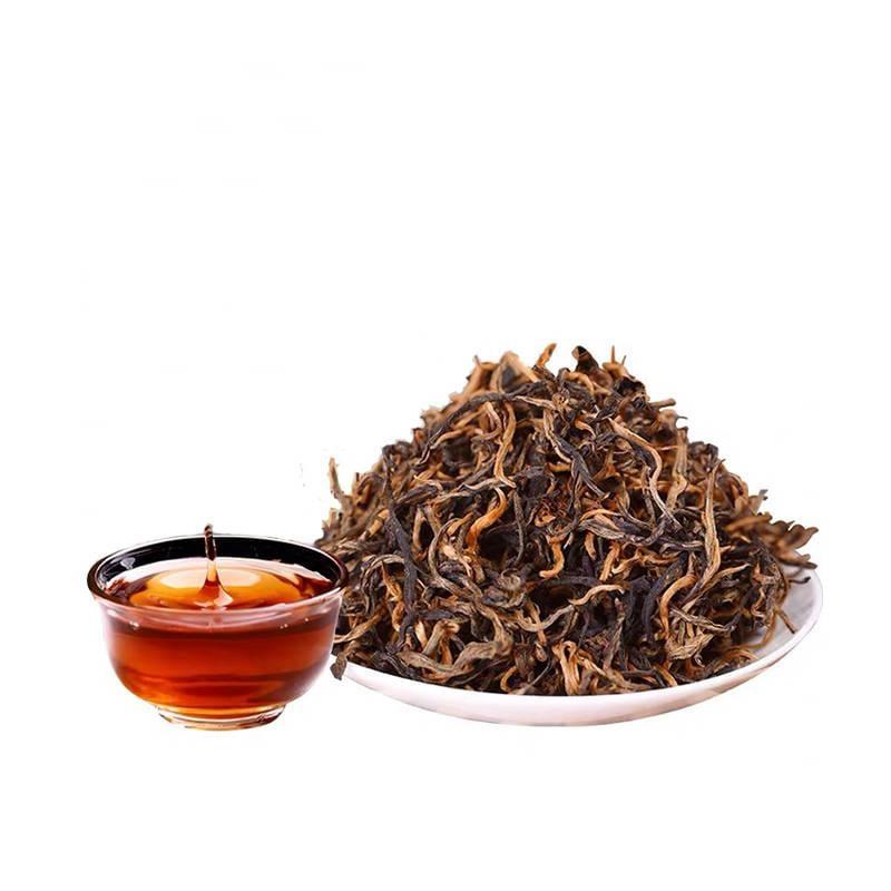 紅茶【買1送1】云南滇紅茶金芽蜜香養胃濃香型紅茶茶葉散裝共500g 紅茶