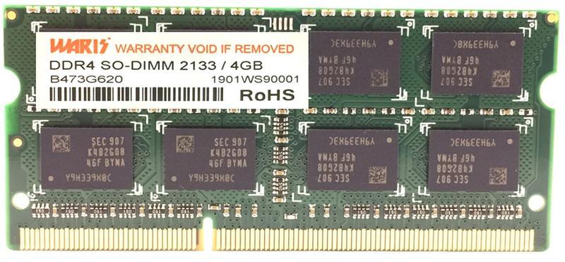 【筆記型電腦】DRAM DDR4 SO-DIMM 2133/2400 4GB/8GB/16GB