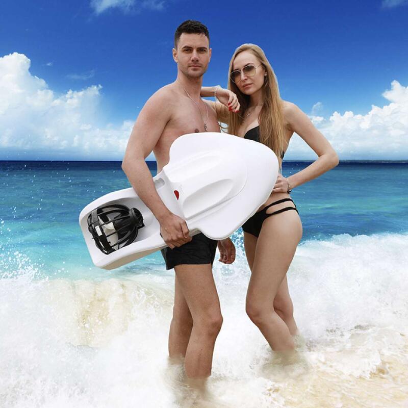 【小洋】?動力浮板電動救生圈水上滑板推進器F2沖浪板游泳助推器成人兒童