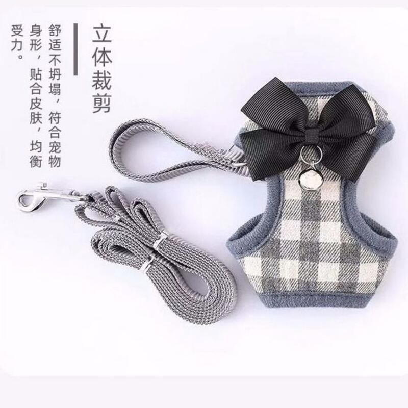 【小洋嚴選】狗狗牽引繩胸背帶狗鏈子寵物貓咪牽引繩小奶貓外出繩小型犬兔子繩