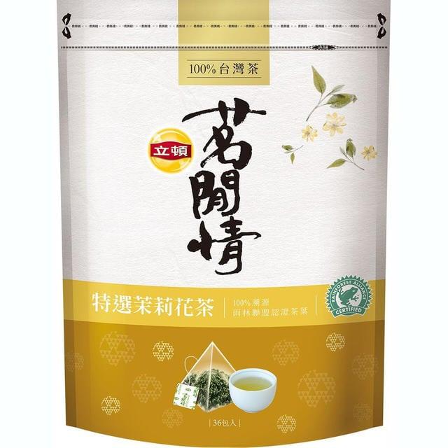立頓茗閒情 茉莉花茶(2.8gX36包X袋)