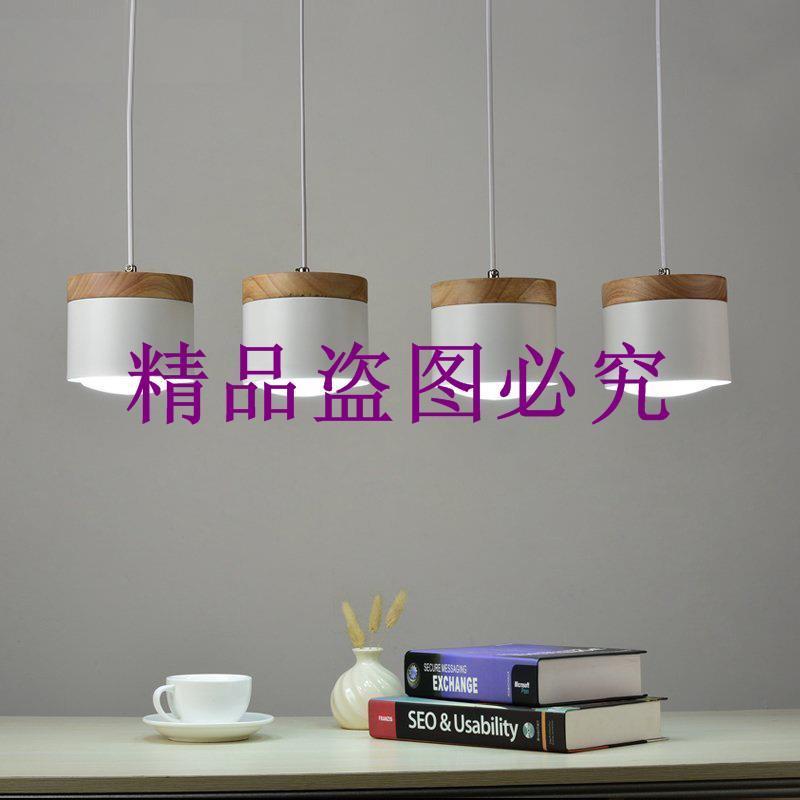 批發北歐創意簡約餐廳吊燈現代客廳臥室書房鐵藝吊燈裝飾燈具燈飾