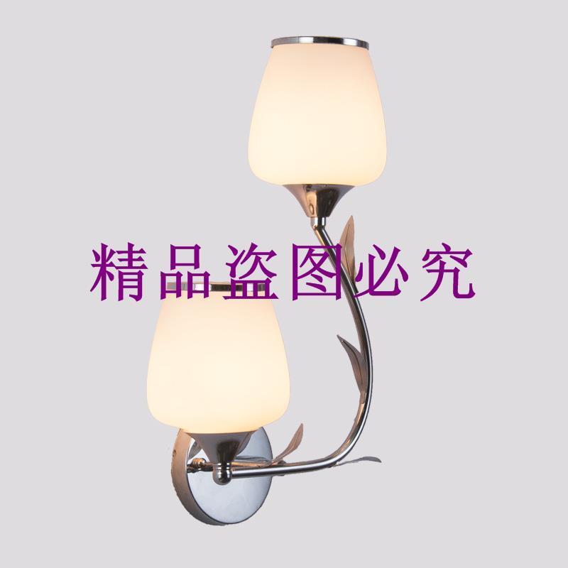 現代簡約臥室LED壁燈創意樓梯過道燈歐式酒店臥室床頭壁燈陽臺燈