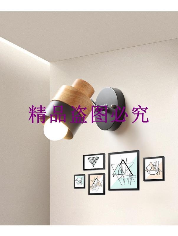 廠家直銷北歐創意客廳壁燈現代簡約過道鐵藝壁燈臥室床頭壁燈