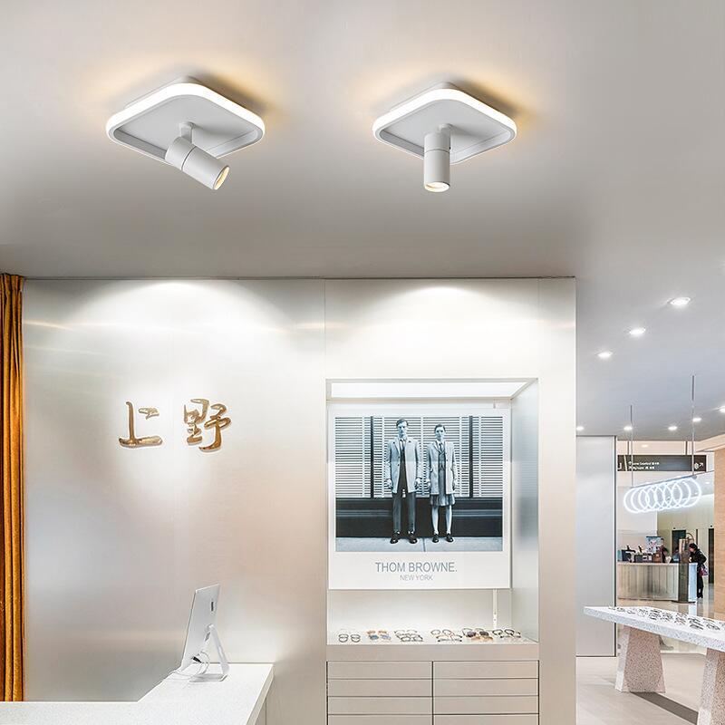 適用110V-220V過道燈 陽臺燈走廊燈現代簡約創意衣帽間門廳入戶網紅樓梯玄關燈