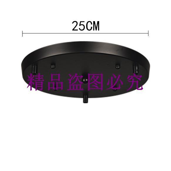 多頭吊燈底盤 長條一字型底盤圓盤300大 400大三孔 四孔