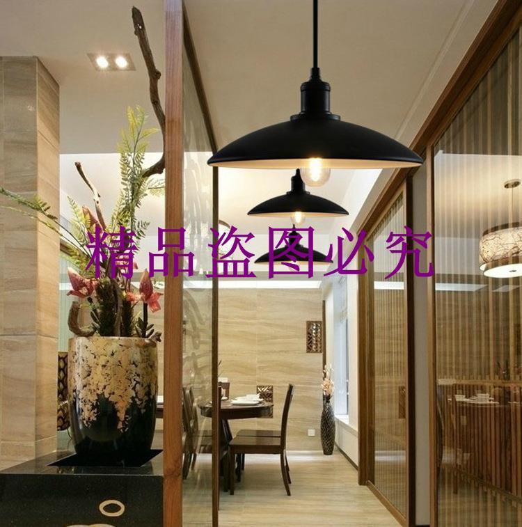 簡約時尚復古創意工業個性歐美式餐廳臥室走廊過道燈咖啡廳吊燈具