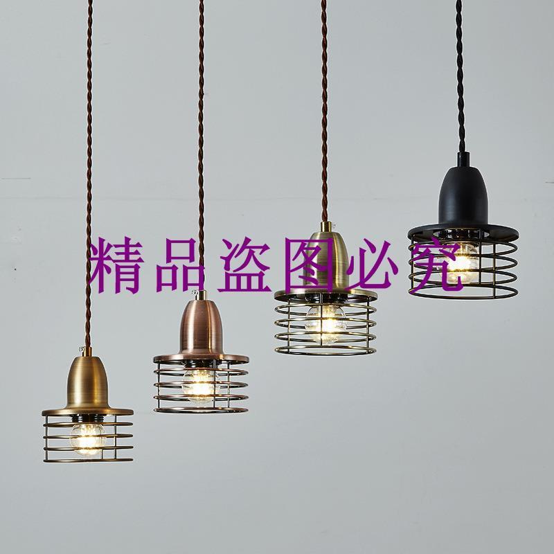 批發Loft北歐美式鄉村倉庫復古工業酒吧臺餐廳多層圈小吊燈