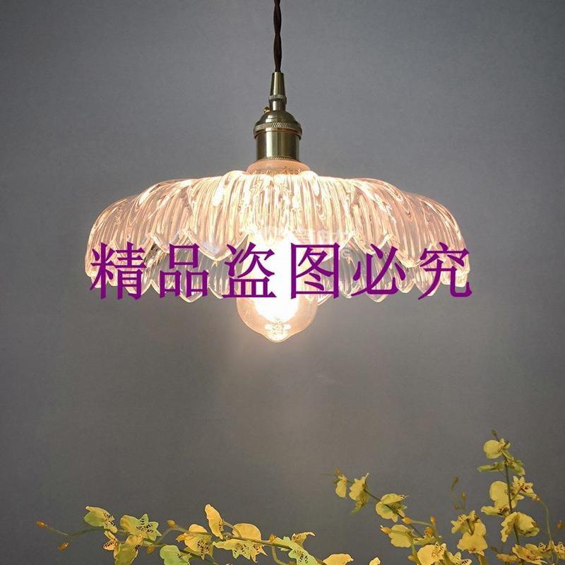 批發中山古鎮淘緣燈具餐廳咖啡廳床頭裝飾北歐風格純銅單頭小吊燈