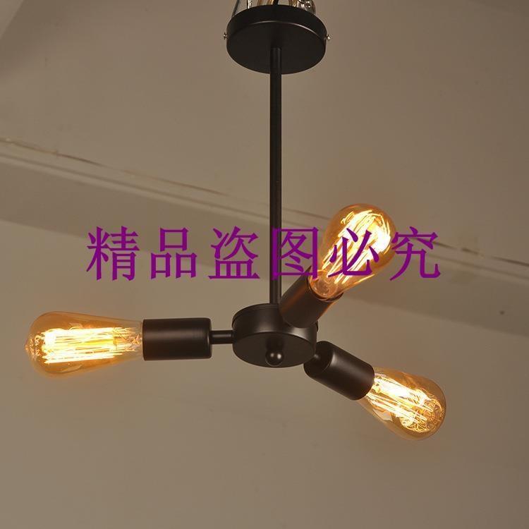 批發裝飾燈泡吊燈愛迪生復古燈泡吊燈 鐵藝工業風燈具咖啡廳餐廳
