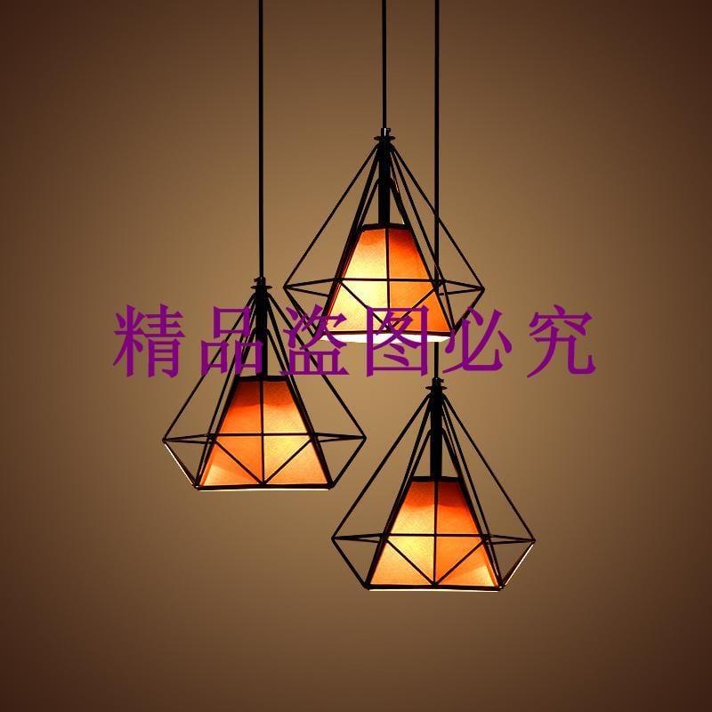 復古餐廳鐵藝鳥籠工程服裝店咖啡廳單頭創意個性前臺吧臺吊燈批發