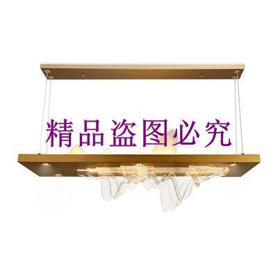 山水茶室吊燈禪意新中式前臺工作室餐廳創意中國風會所書房燈飾