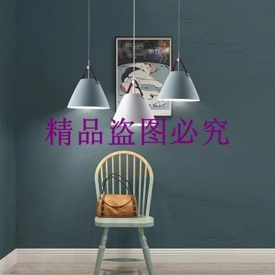 北歐餐廳臥室現代極簡創意燈吧臺咖啡廳簡約皮帶吊燈