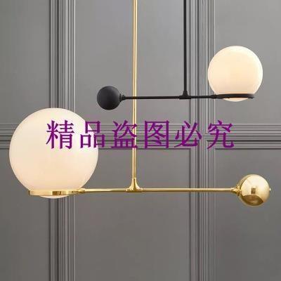 北歐創意玻璃球臥室床頭小吊燈設計師樣板房餐廳客廳吊燈