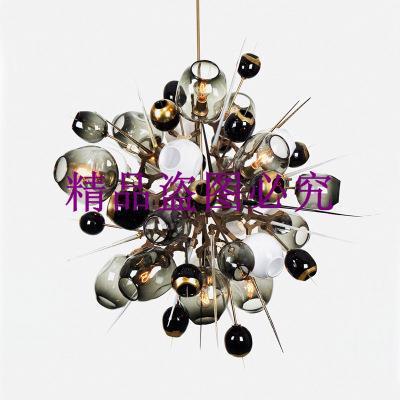 Lindsey分子北歐后現代簡約魔豆樹枝創意個性客廳設計師推薦吊燈