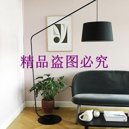 北歐后現代客廳五金客廳燈藝術創意簡約臥室售樓部樣板房落地燈