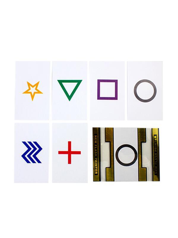 小花- ESP閃電快速印刷術 預言卡 撲克牌紙牌類 近景魔術道具#魔術道具