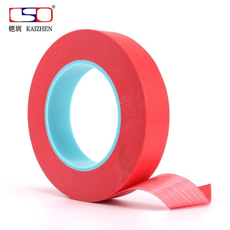 拾光*PCB噴錫紅美紋膠帶 線路板 耐高溫藍管紅美紋膠帶 3*0.23厚#膠帶(7-10天收到