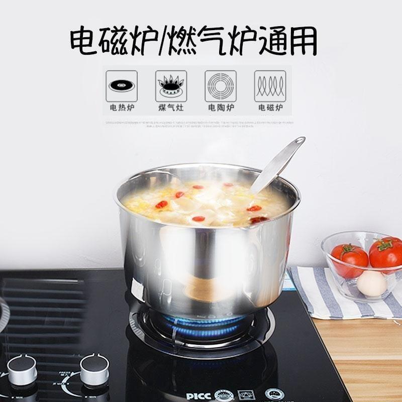好萊屋廚房打蛋盆和面盆圓形加厚不銹鋼盆家用大湯盆飯盆帶蓋味盅油盆子