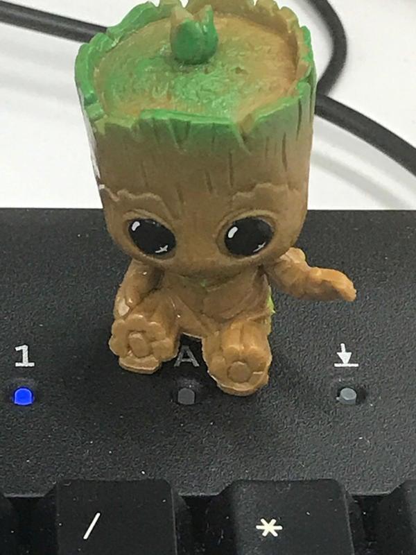 銀河護衛隊 樹人 格魯特Groot公仔擺件