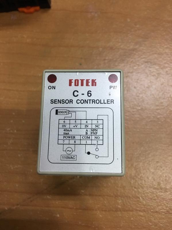 中古良品 陽明 Fotek Sensor 控制器+底座 另有計時器 溫度控制器