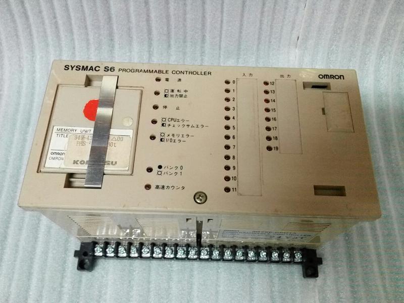 💗台灣製造 歐姆龍 OMRON SYSMAC S6 3G2S6-CPU13 24V AC/DC  PLC 可程式控制器