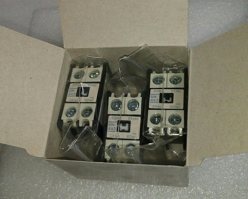 🌞 全新品 日本製造 MITSUBISHI 三菱 電磁接觸器 UN-AX2 1a1b (1NO1NC) 補助接點