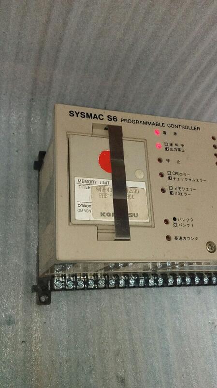 🌞歐姆龍 OMRON SYSMAC S6 3G2S6-CPU13 24V AC/DC  PLC 可程式控制器 已售完