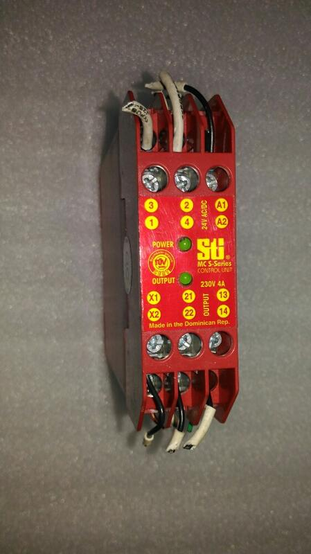 🌞現貨 OMRON 歐姆龍 MC-S 44531-0010 控制器 1NO/1NC 24V AC/DC 安全繼電器