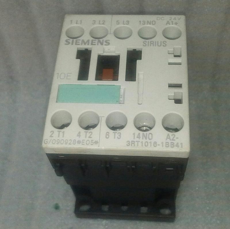 💗德國製 SIEMENS 電磁接觸器 3RT1016-1BB41 電磁開關 DC24 1NO 直流接觸器 3-POLE