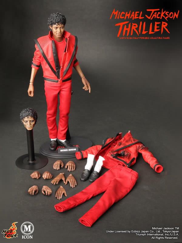 ~熊貓熊~全新Hot Toys 1/6 MIS09 Michael Jackson 麥可 傑克森 Thriller 顫慄