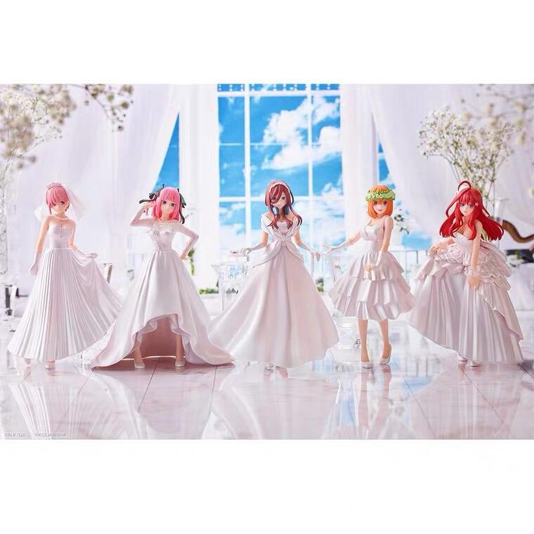 【一番賞模玩店】(6月預購) BANDAI 五等分的花嫁 五等分的新娘 一套五隻 一番賞(海外限定)