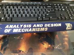 小紅帽◆《Analysis and design of mechanisms 》原文精裝 泛黃無書皮 微筆記K33
