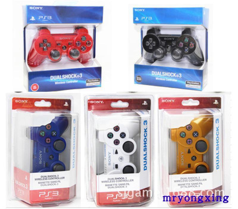 現貨當天出! PS3主機無線藍牙手柄 PS3無線遊戲手柄 PS3把手 PS3手把 PS3控制器 六軸震動 副廠 送充電線